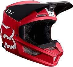 Fox Racing V1 Mata Women's Off-Road Motorcycle Helmet - Cardinal/X-Small