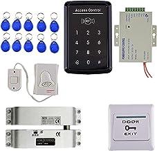 HOMYL RFID Reader Access Control Security System Keypad ID Card & Magnetic Lock Bell