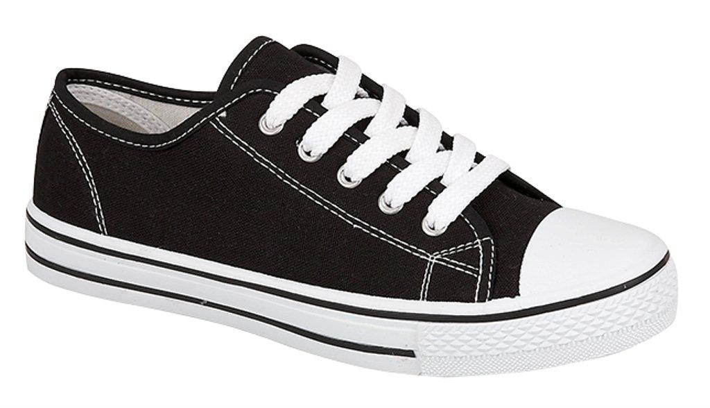 Kids Canvas Pumps Plimsoles Shoes- Buy