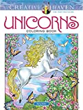 Creative Haven Unicorns Coloring Book (Creative Haven Coloring Books)