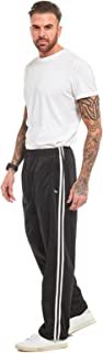 MyShoeStore Mens Track Suit Bottom Casual Elasticated Waist Tracksuit Bottoms Silky Joggers Jogging Jog Trousers Leisure G...