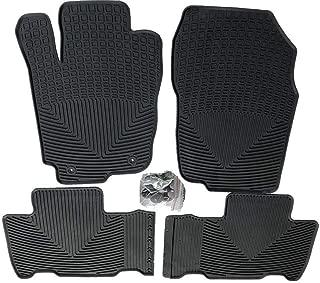 Kaungka Heavy Rubber Car Front Floor Mats Compatible for 2013 2014 2015 2016 2017 2018 Toyota Rav4 -All weather and Season Protection Car Carpet(Not Fit For Hybrid Rav4)
