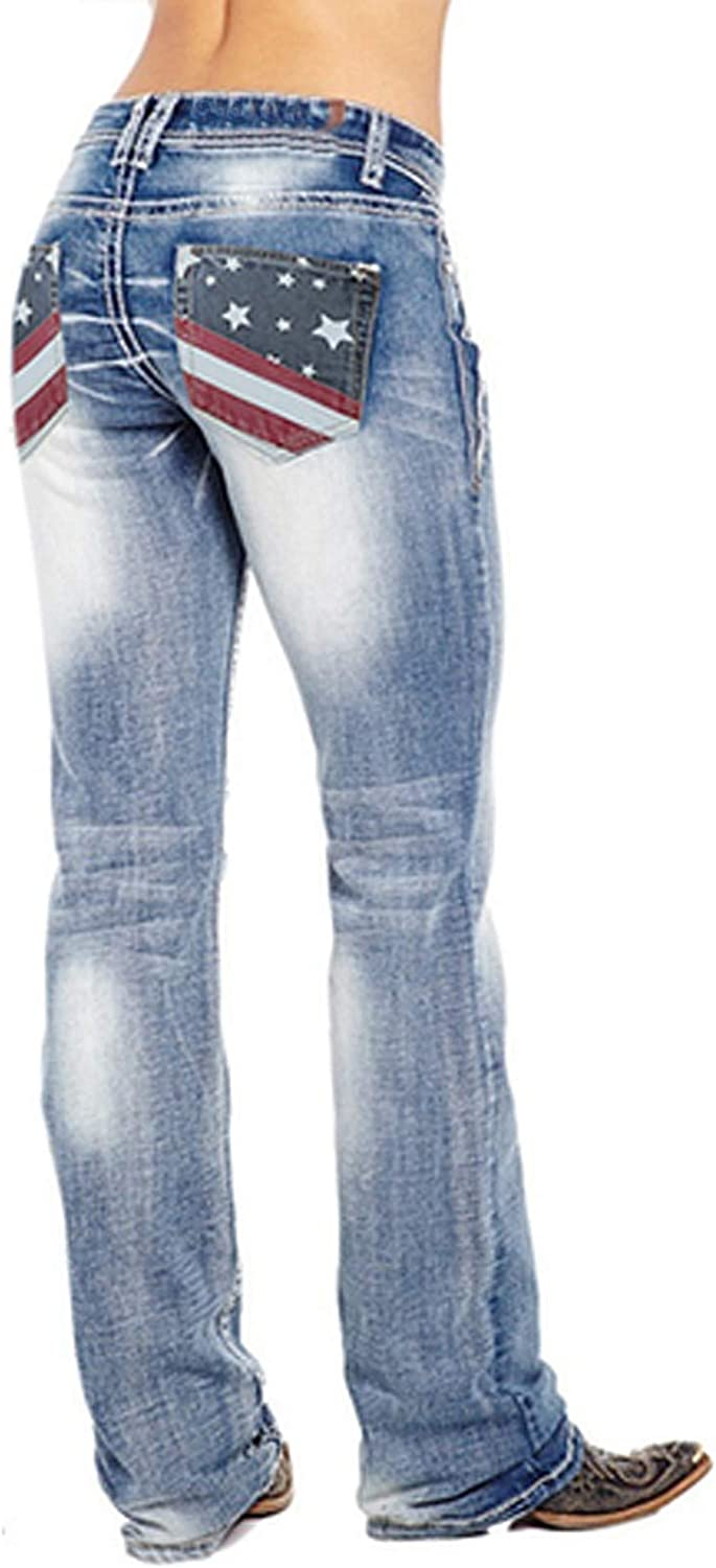 F_Gotal Women's High Waisted Skinny Destroyed Ripped Hole Denim Pants Long Stretch Pencil Jeans Jogger Jeggings