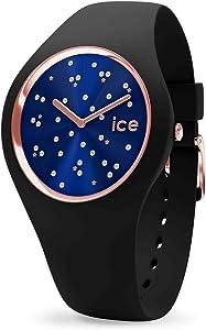 Ice-Watch - ICE cosmos Star Deep blue - Montre noire pour femme avec bracelet en silicone