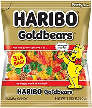 Haribo Goldbears Gummi Candy 3 Pound Bag