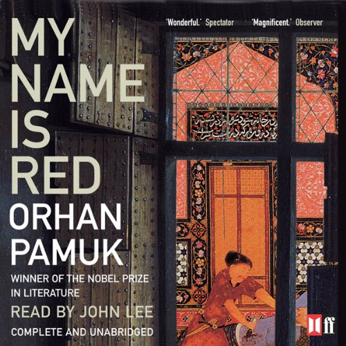 My Name Is Red audiobook cover art