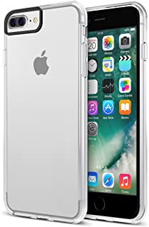 iPhone 7 Plus Case , XDesign [Hybrid Clear] Protective Clear Bumper For Apple iPhone 7 Plus (2016)[Scratch Resistant] integrated Shock-Absorbing Bumper Cover Hard Back Panel -[All Clear]