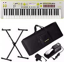 Korg Kross 2-61 61-Key Synthesizer Workstation - Limited Edition Neon Green Gray
