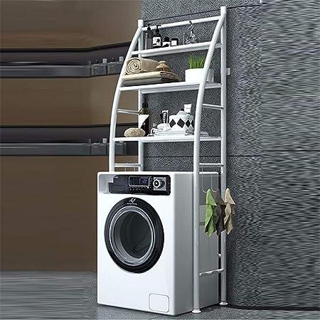 165/×68cm EBTOOLS Scaffale della Lavatrice,Ripiano per Lavatrice,Organizzatore della Toilette,Partizione a Tre Strati,Ampio Spazio,Acciaio Inossidabile,68cm