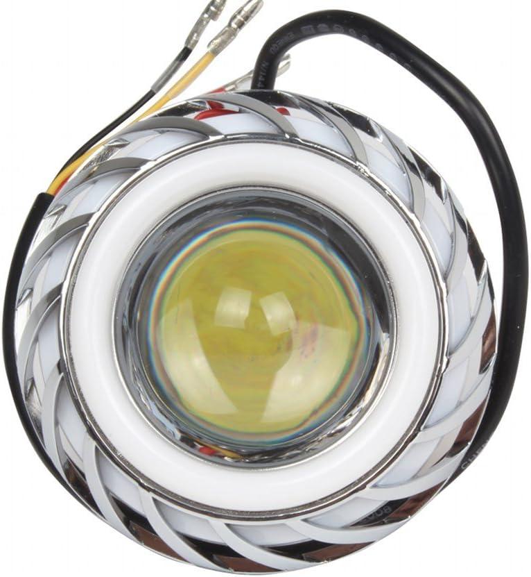 HEHEMM Max 67% OFF 10W LED Lens Double Light Sale SALE% OFF Motorcycle Headlamp Eye Angel