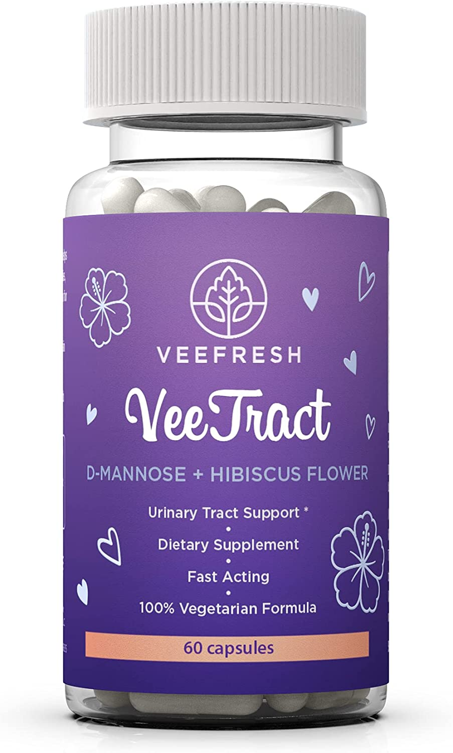 VeeFresh VeeTract Urinary Tract Support D with - Manno D-Mannose Ranking TOP2 Outlet SALE