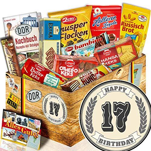 Geschenke Kekse / Ost Paket / Geschenke 17 Geburtstag / Zum 17. Geburtstag