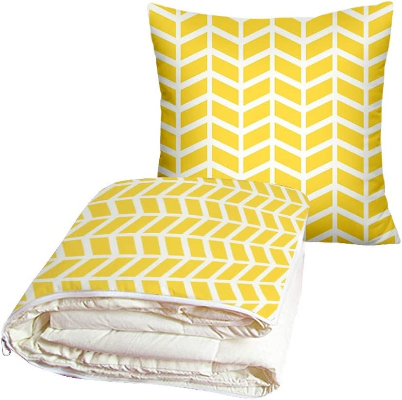 Bargain sale Triangle Pillow Cushion Max 82% OFF Quilt Dual Break Office Use Lunch