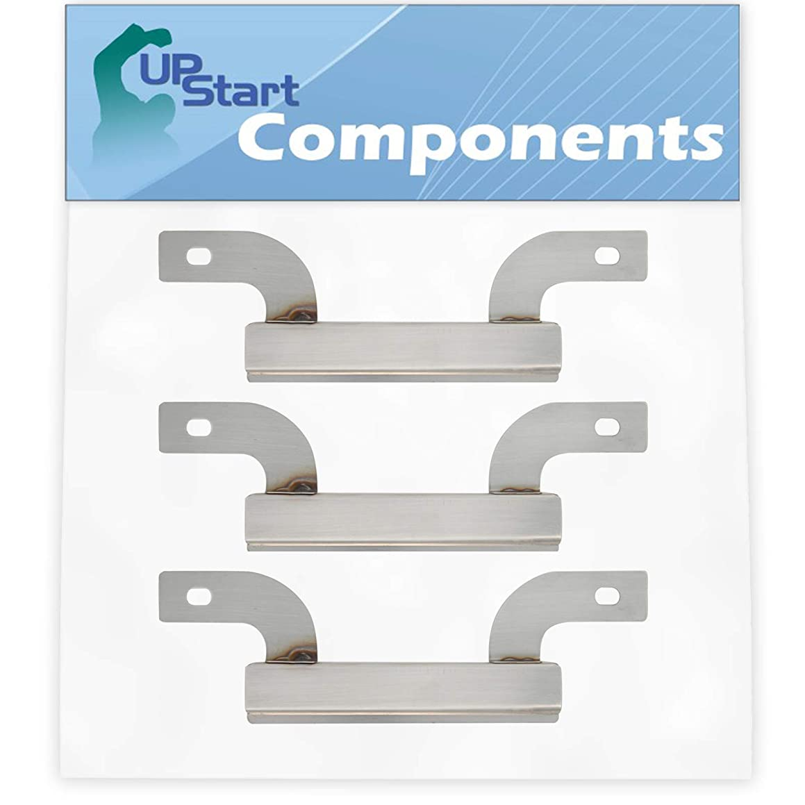 UpStart Components 3-Pack BBQ Grill Burner Crossover Tube Replacement Parts for Charmglow 810-7451-F - Compatible Barbeque Carry Over Channel Tube