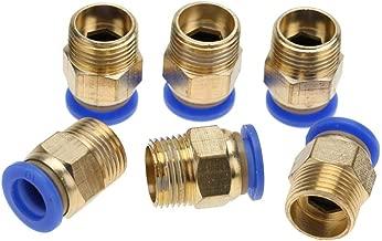 AERZETIX 2x Conectores de conexion rapidos macho de aire comprimido compresor rosca 3//8 C18578