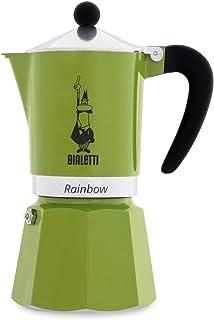 Bialetti 4973 Rainbow Espresso Maker, Green