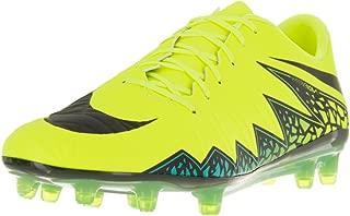 Men's Hypervenom Phatal II Fg Soccer Cleat Volt with Black/Turqoise (9.5)