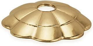 40 - 45 Pcs 6 mm 14K Gold Filled Flower Bead Caps