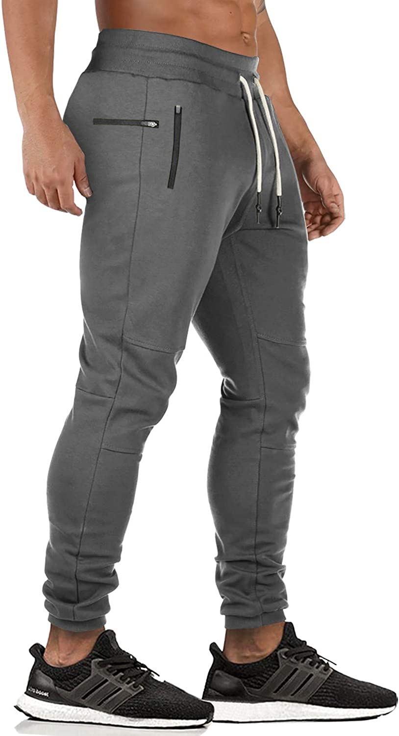 JINSHI Men/'s Running Pants Sweatpants with Pockets Athletic Pants for Workout