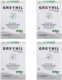 Dr. Jain's byPurenaturals Dark Shade Herbal Hair Colour Treatment Powder, 100 g (Set of 4)