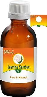 SSCP Botanicals Jasmine Sambac Pure & Natural Essential Oil (Jasminum sambac) . (500 ml (16.90 Oz) Aluminium Bottle)
