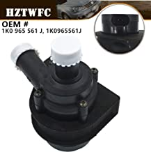 HZTWFC Auxiliary Cooling Water Pump 1K0 965 561 J 1K0965561J Compatible for VW Jetta Golf GTI Passat CC Octavia 1.8 T 2.0 T 12 V Engine