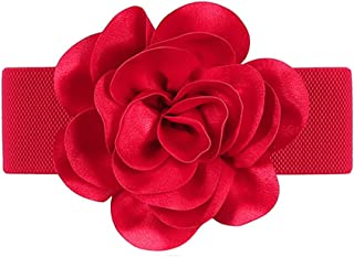 Best red flower belt Reviews