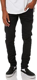 Volcom Men's 2X4 Tapered Mens Jean Cotton Polyester Elastane Blue