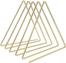 SHIZHI Nouveau Iron LP Rack Triangle Triangle Livre Magzine Support Dossier Enregistrement Enregistrement Organisateur (Co...
