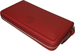 Tory Burch Thea Zip Continental Wallet (Brilliant Red)