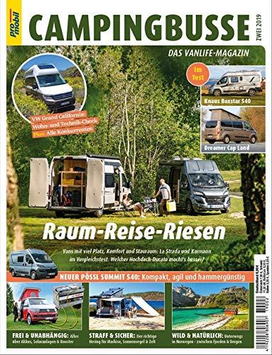 pro mobil Extra Campingbusse: Das Vanlife Magazin - Heft 02/2019