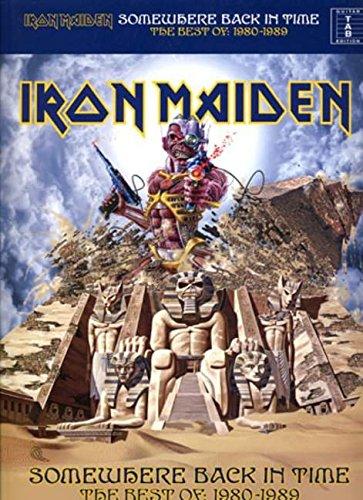 Iron Maiden Somewhere Back In Time The Best Of 1980-1989 (Tab) Gtr: Noten, Songbook für Gitarre
