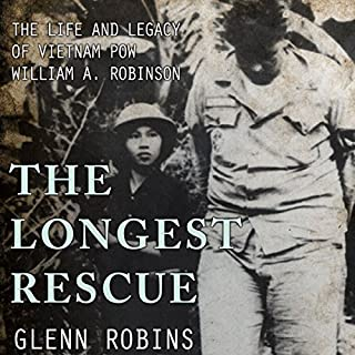 The Longest Rescue audiobook cover art
