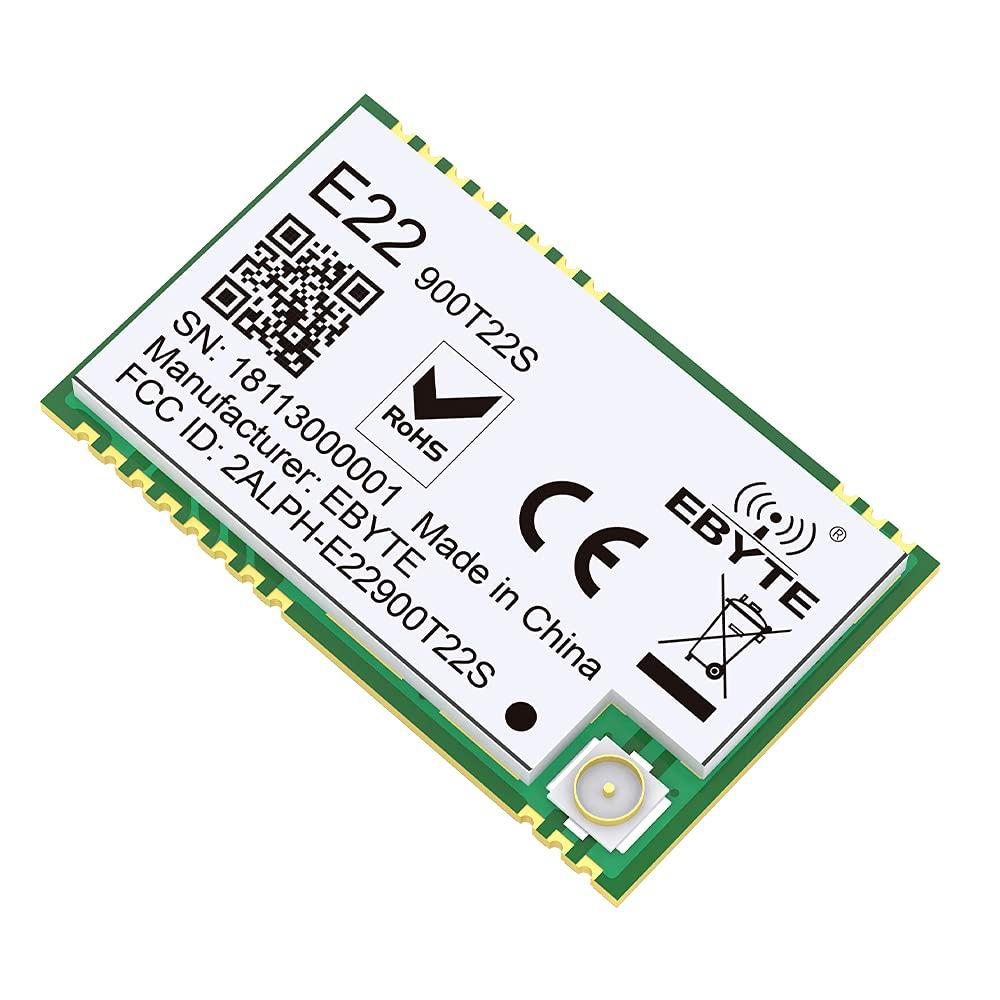 Popular product EBYTE SX1262 UART 868MHz 915MHz LoRa Workin TCXO Net E22-900T22S Now free shipping