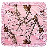 Carstens Realtree AP Baby Blanket, Pink, 34' x 34'