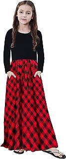 Best casual girls long sleeve dress Reviews