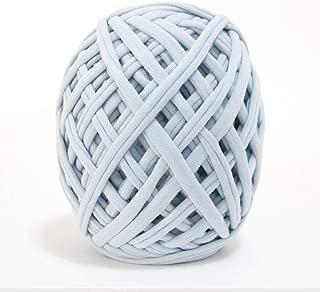 Papardelle Sassy Fabric Tshirt Yarn (Weaved Cotton),Pastel Blue