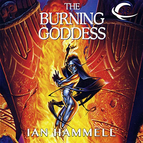 The Burning Goddess audiobook cover art