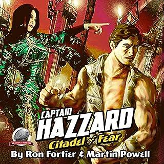 Captain Hazzard: Citadel of Fear audiobook cover art