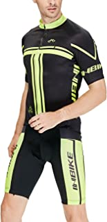 INBIKE Eye-catching Men's Cycling Jersey Set