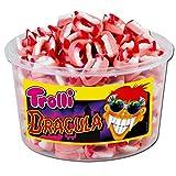 Trolli Dracula Fruchtgummi Zähne Gebiss zu Halloween erschreckend gut 1050g