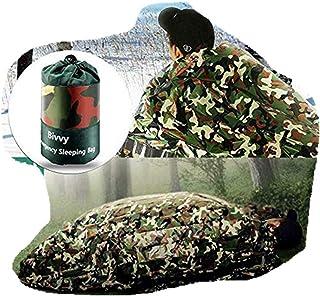 Isolation de Secours Militaire Benradise Sac de Couchage Camouflage dans la Jungle Camping Double Sac de Couchage d/'Urgence,Film aluminis/é Pet pour H/ôpital