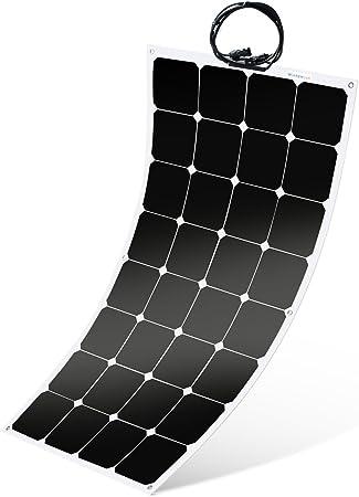 Winnewsun Flexible 100W Flexible Sailboat Solar Panel