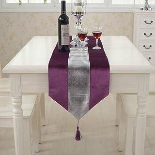 Decoration Table Salon Chemin de Table Mariage Linge Chemin de Table Lavable Nappe en Plein air Chemin de Table Table déco...