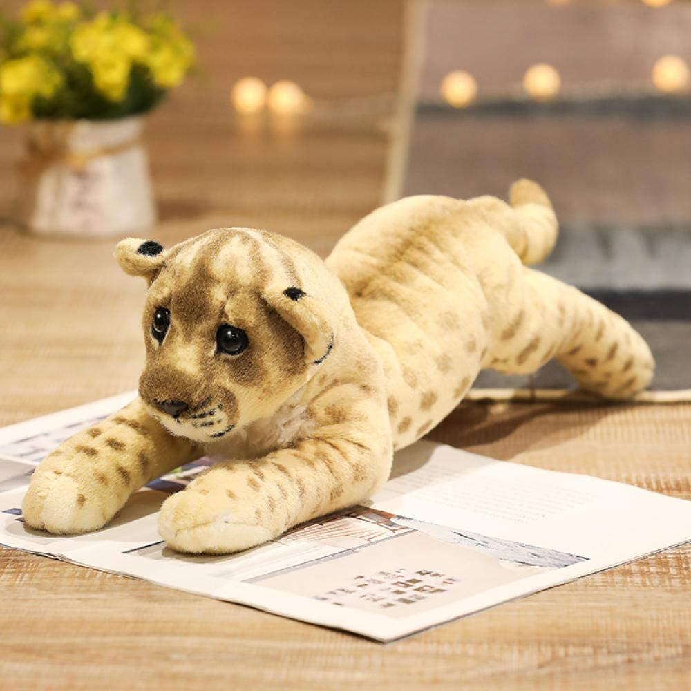 FHSMRING 39-58cm Simulation Lion Beauty products Tiger Leopard Plush Sales of SALE items from new works Home D Toys