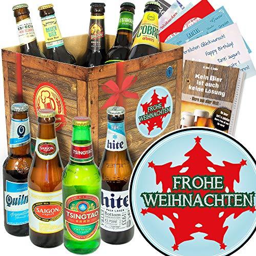 Tannenbaum | Geschenkbox - Bier mit Bieren der Welt