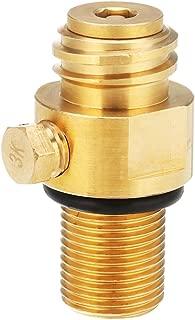 Hvlystory M181.5 Thread Replacement Valve CO2 Tank Brass Pin Valve for Soda Stream