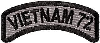 Vietnam 72 Rocker Patch, Vietnam Veteran Patches