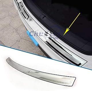 Argento Cromato Autodomy Bumper Protezione Paraurti Posteriore Anteriore Anticollisione Adesivo 2 Pezzi per Auto Colore