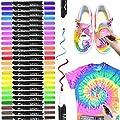 Marcadores textiles, RATEL 24 colores Marcadores de tela y…
